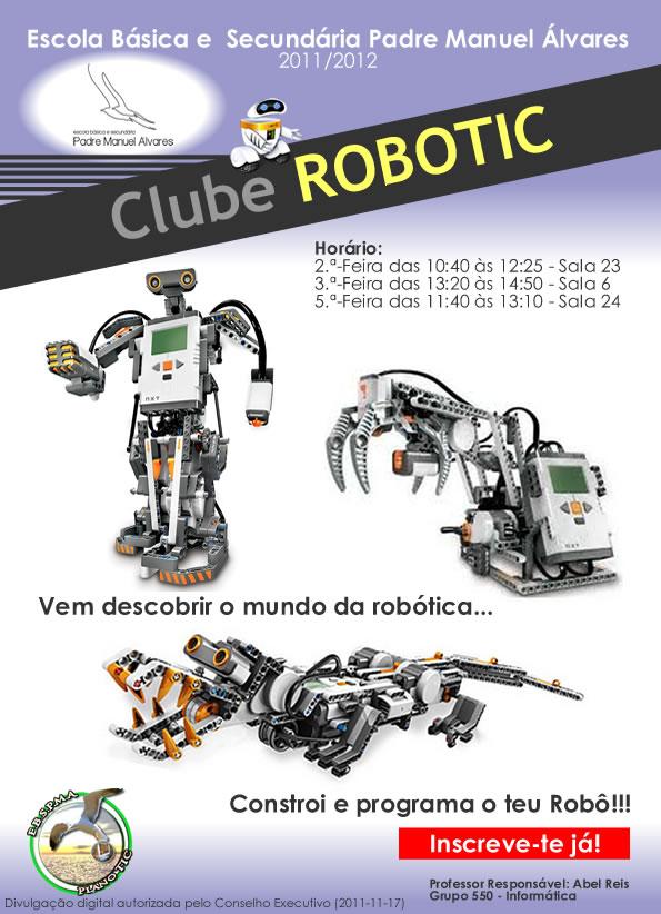 Robótica na EBSPMA